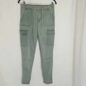 American Eagle Super Stretch Green Pants